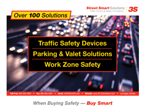 Traffic Safety Devices • Work Zone Safety • Parking & Valet Solutions