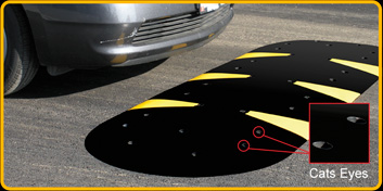 Solid Rubber Speed Hump