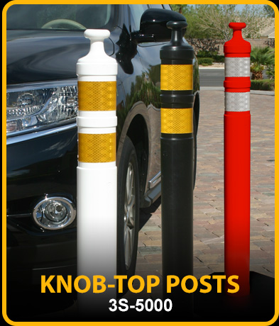 New: Knob-Top Posts, 3S-5000