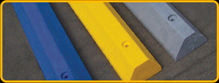 Plastic Speed Bump color options